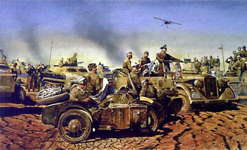 Rommel - The Desert Fox from World War II by the artist