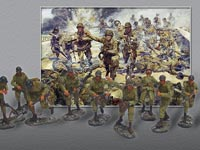 Strike Attack - Miniatures - Set 1